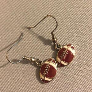 Football Fan Earrings